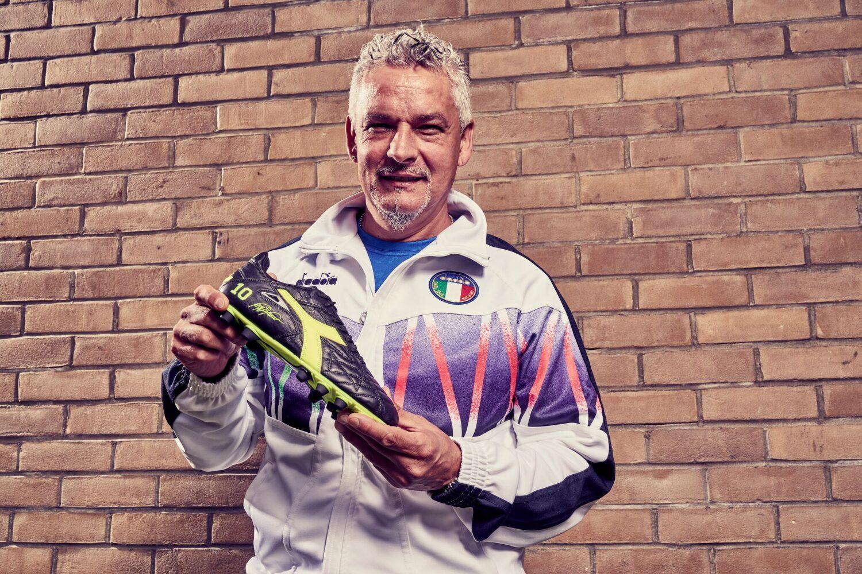 Diadora e le scarpe di Roberto Baggio: il Mito non muore mai
