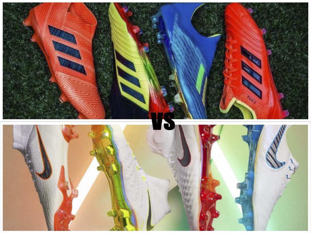 Nike vs Adidas: un viaggio dentro le scarpe del Mondiale