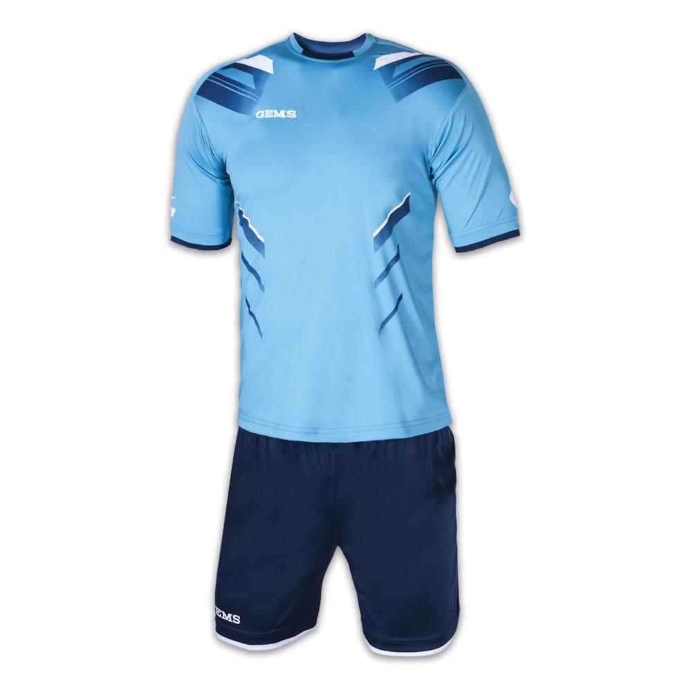 Tornei calcio: kit Gems Viper azzurro blu