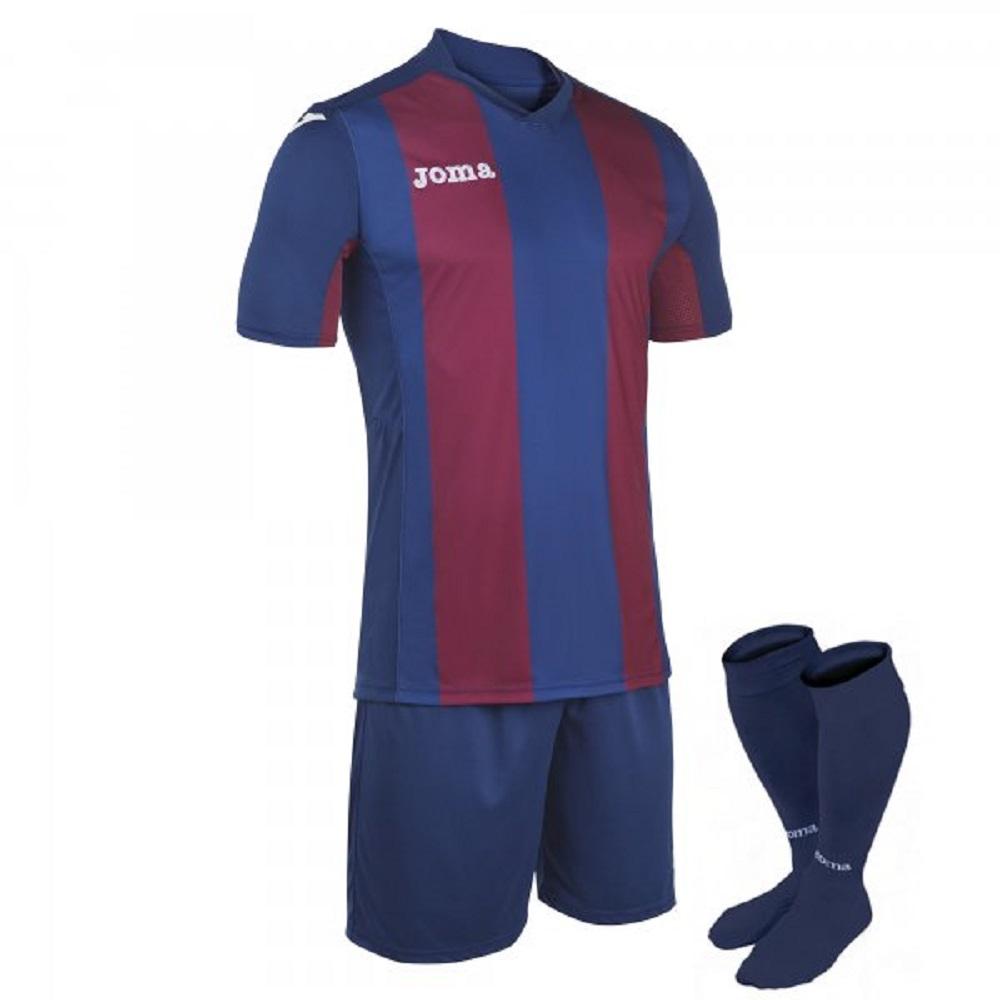 Toreni calcio: Kit Joma Pisa rosso blu