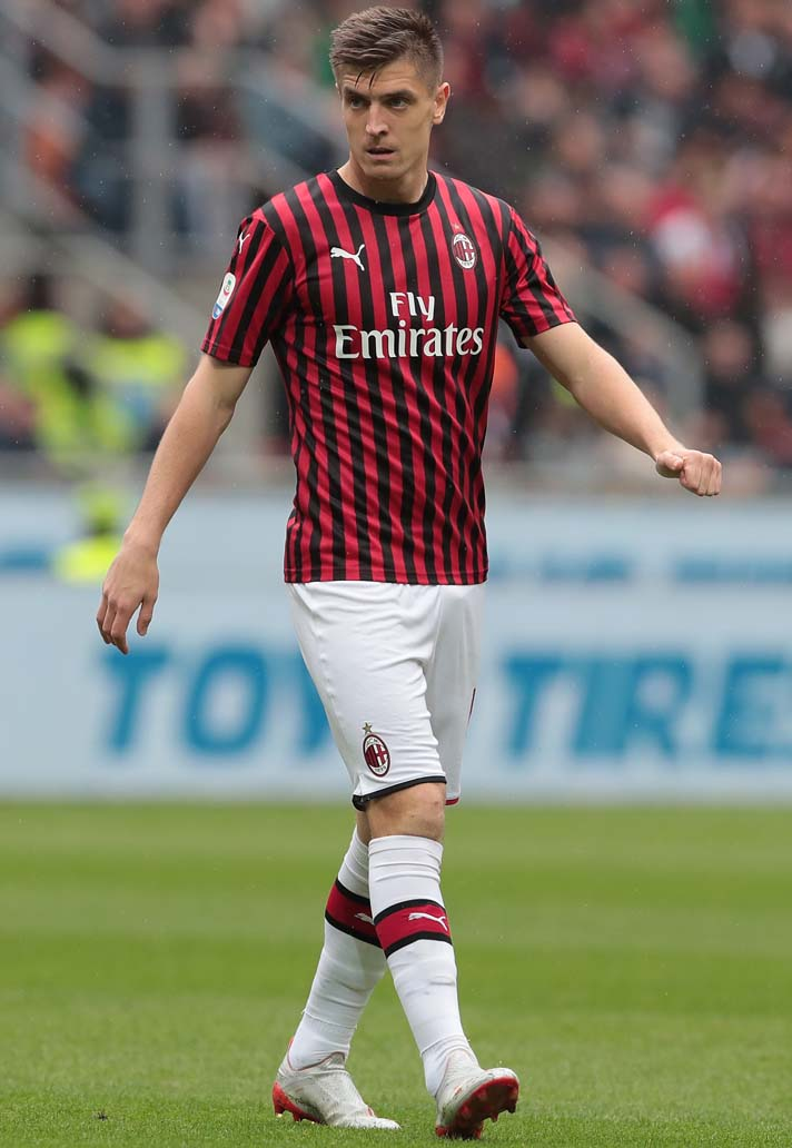 maglia Milan 2019/20, Piatek